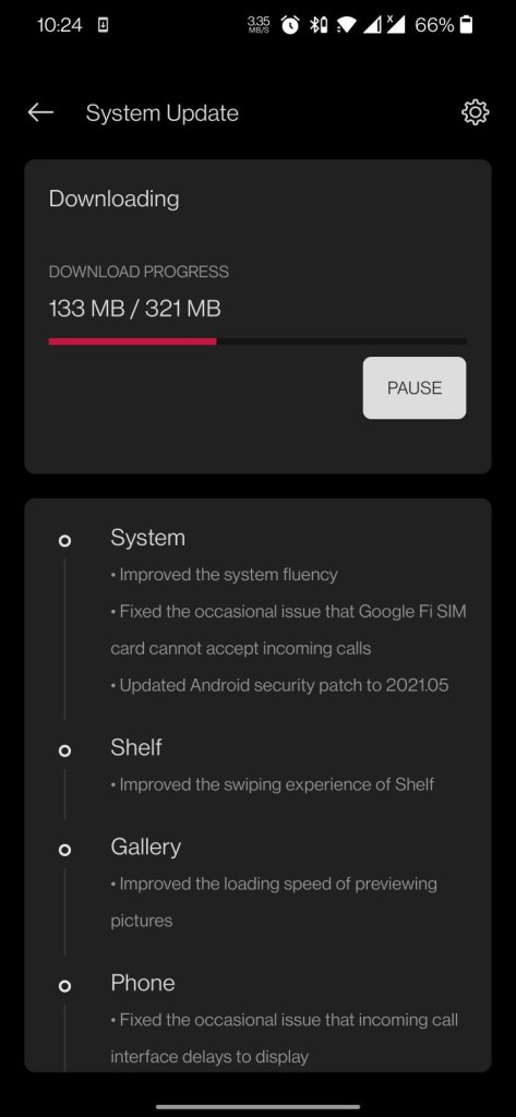 OxygenOS 11.0.1.1 for the OnePlus 7