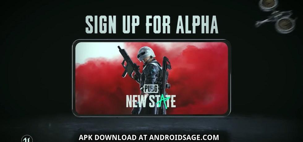 PUBG NEW STATE Closed Alpha registration