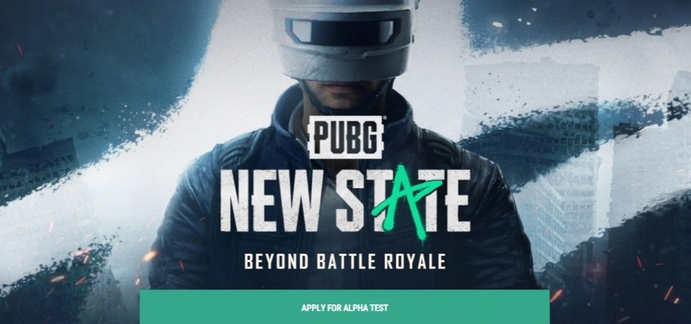 PUBG NEW STATE apply for alpha test official website