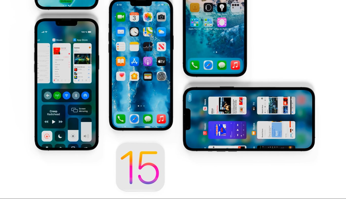 Apple iOS 15 Wallpapers Download