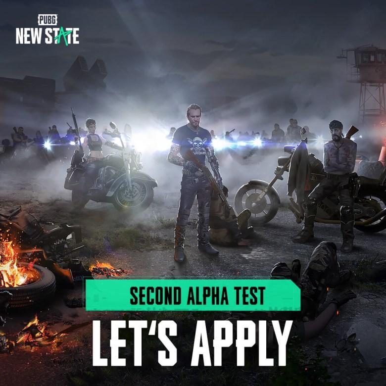 PUBG New State Second Alpha Test Registration