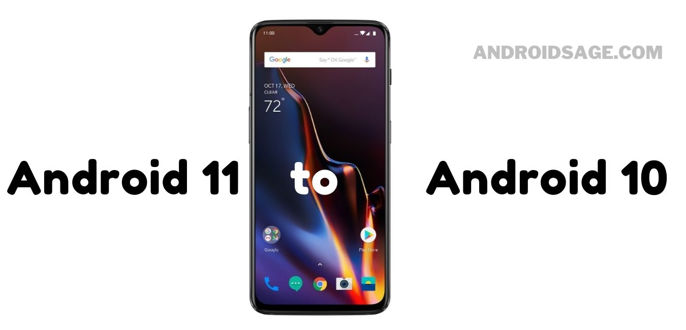 Rollback or Downgrade OnePlus 6 and 6T to Stable Android 10 (Without Losing Data)