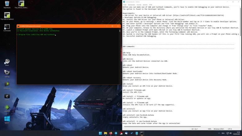 ADB on Windows 11
