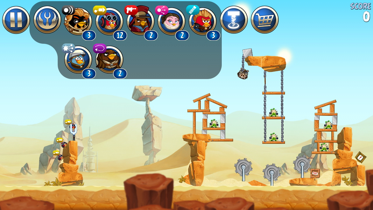 Angry Birds Star Wars Ii Review The Force Is Strong With This One Androidshock