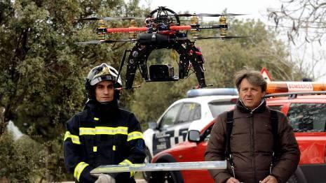 drone emergencia