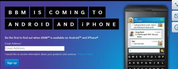 descargar aplicacion oficial bbm para android 2 BBM para Android ¿Qué está pasando?
