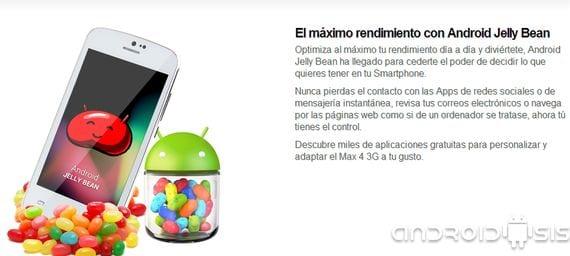 review max cuatro 3g un dispositivo android espanol de doble nucleo y android cuatro dos dos p tres Review MAX cuatro 3G un dispositivo Android® Español de doble núcleo y Android® 4.2.2 por 89 Euros