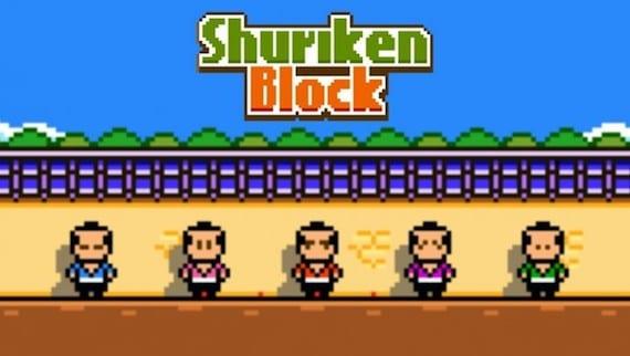 shuriken block cuatro videojuegos mas del fundador de Flappy Bird que triunfan en la red