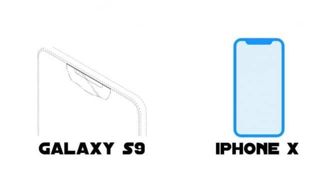 Galaxy S9 y iPhone X