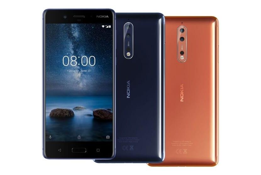 Colores Nokia® 8