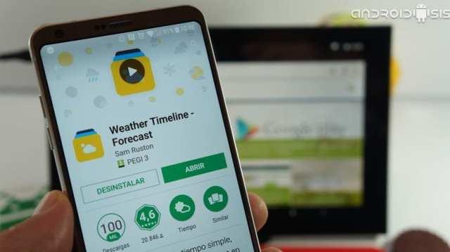 ¡¡Espectacular aplicación del clima para Android!!