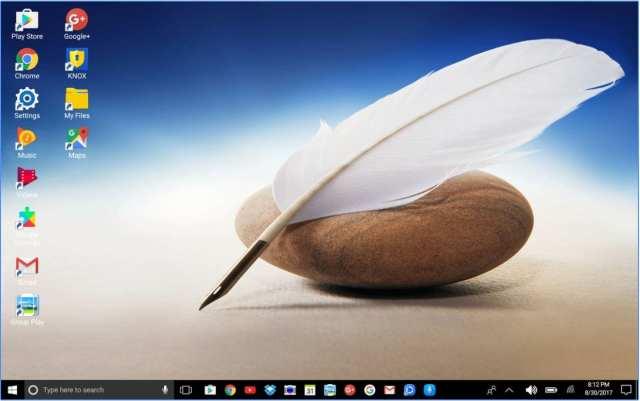 Launcher estilo Windows diez para Tablets Android