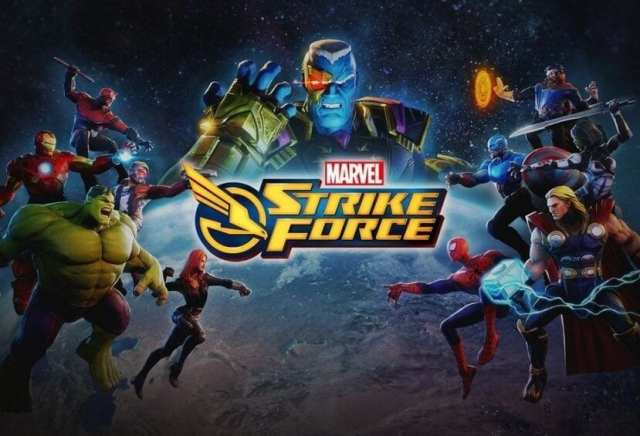 Imagen oficial Marvel℗ Strike Force