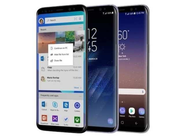 Galaxy S8 Microsoft℗ Edition