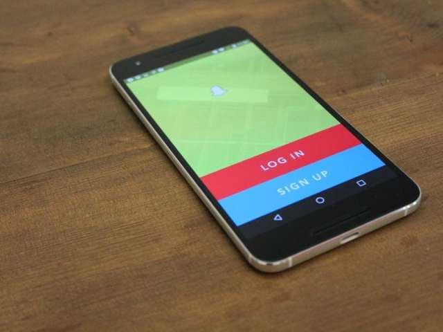 Snapchat rediseño Android