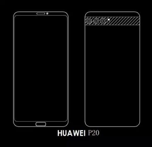 Huawei P20 Triple cámara