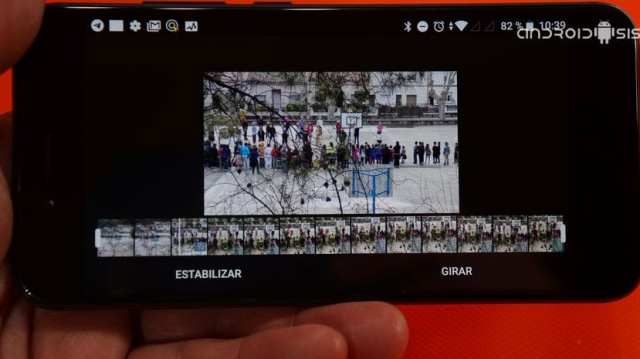 Cómo estabilizar vídeo en Android