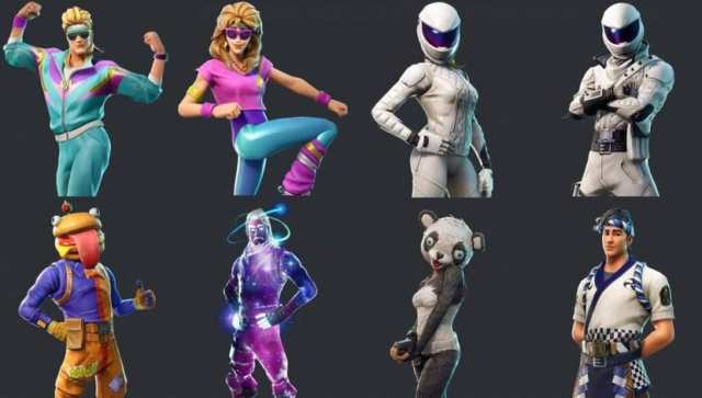 Fortnite Galaxy℗ Skin