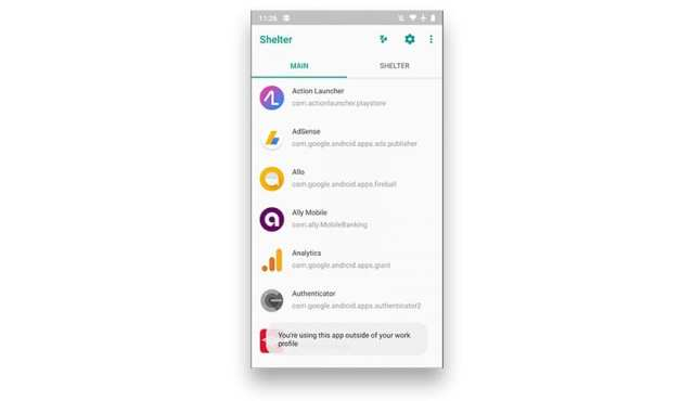 Shelter apps
