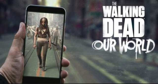 The Walking dead Our World