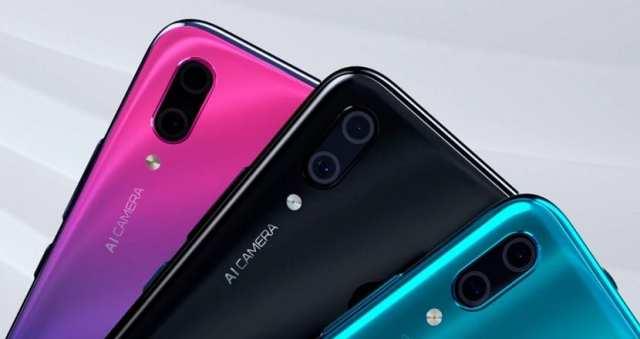 Huawei Y9 2019 camara