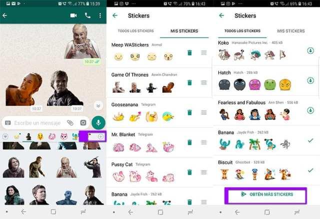 Stickers para WhatsApp