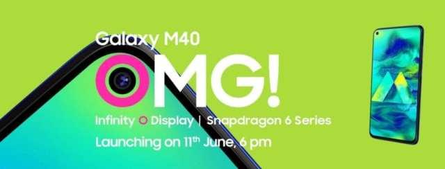 Galaxy M40 presentacion