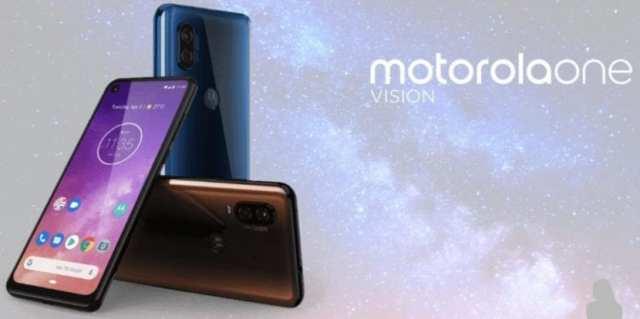 Motorola One Vision render