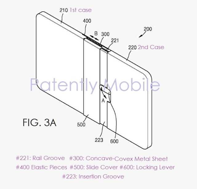 Nuevo smartmovil plegable de Samsung