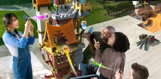 Minecraft Earth video