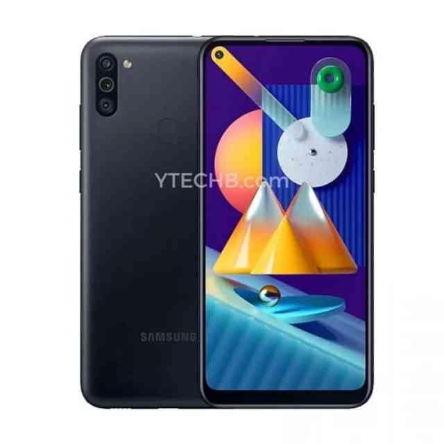Samsung Galaxy℗ M11 negro render
