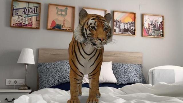 Tigre 3D ArCore