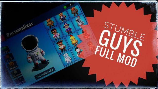 Descargar APK Stumble Guys mod Full (Todo desbloqueado) ¡¡Funcional!!