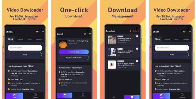 SnapTik - Descargar vídeos TikTok sin marca de agua