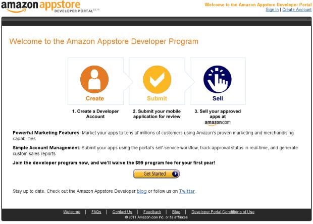 Amazon App Store Amazon prepara su AppStore también para Android.