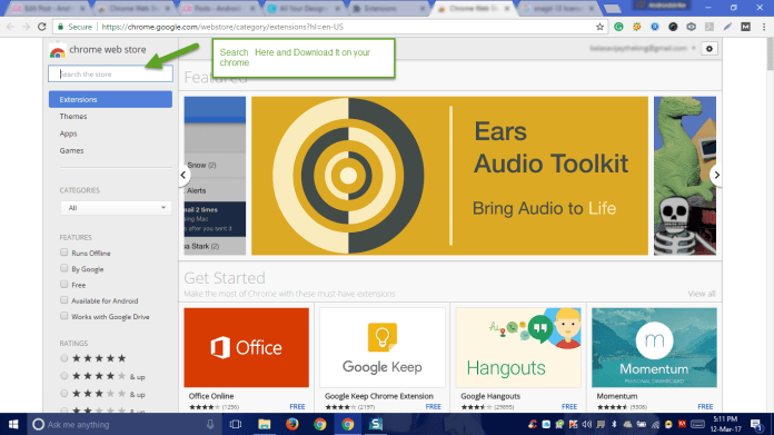 How to Install extensions on chrome