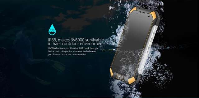 blackview bv6000 4g smartphone most durable smartphone