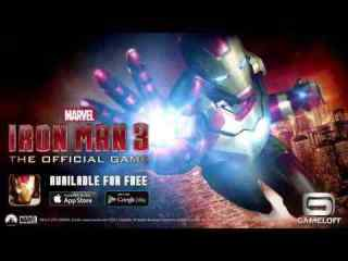 Iron Man 3 android hra