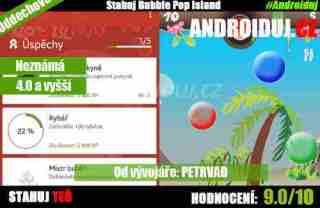 1 - Android hra Bubble Pop Island ke stažení