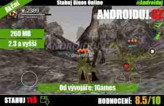 Dinos Online pro více hráčů android hra zdarma