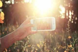 Selfie, video hovory WhatsApp