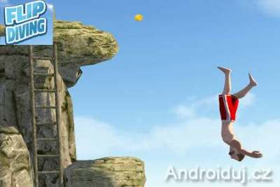 Android hra - Flip Diving