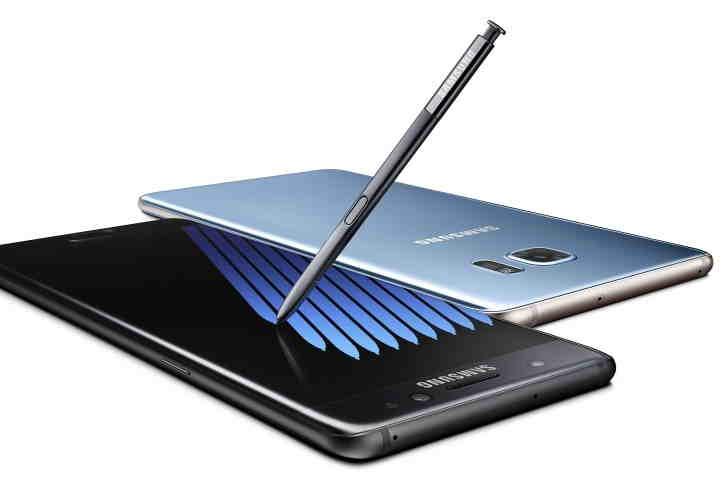 Samsung Galaxy Note 7, androiduj, touchwiz