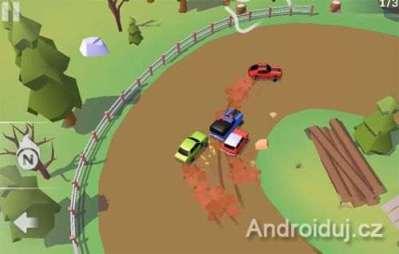 SkidStorm android hra zdarma, závodní hry