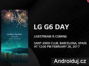 Živý přenos představení LG G6