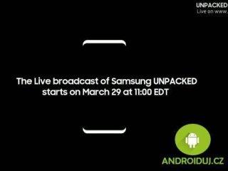 Samsung Galaxy S8 živý přenos