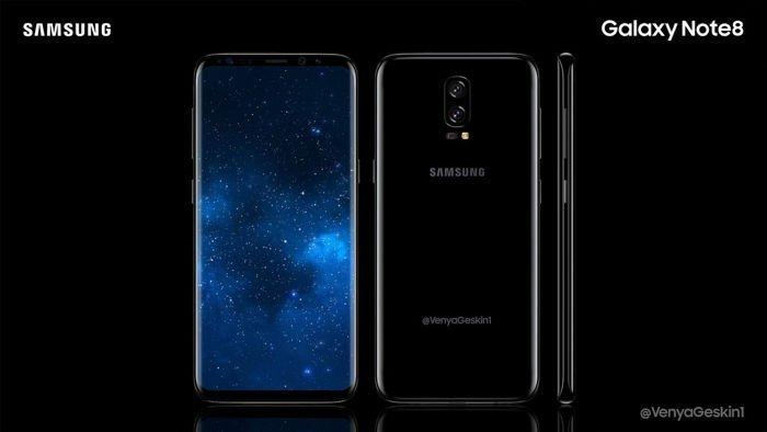Koncept Samsung Galaxy Note 8