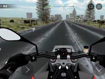 Moto Traffic Race 2 android hra zdarma