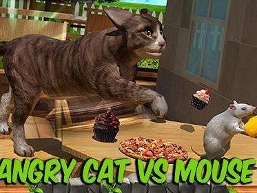 Angry cat vs. mouse 2016 ke stažení na mobil