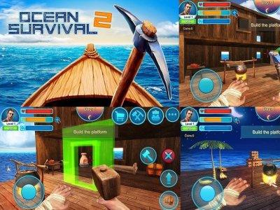 Ocean Survival 2 Android hra zdarma